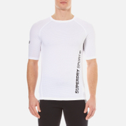 Superdry Men's Sports Active Relaxed T-Shirt - White