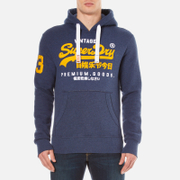 Superdry Men's Premium Goods Duo Hoody - Princeton Blue Marl