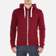 Superdry Men's Orange Label Ziphood - Red Hook Grit