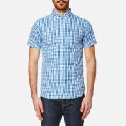 Superdry Men's Ultra Lite Oxford Short Sleeve Shirt - Premium Oxford Blue