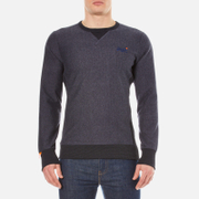 Superdry Men's Orange Label Crew Sweatshirt - Midnight Marl Twill