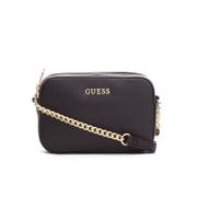 Guess Women's Isabeau Mini Cross Body Top Zip Bag - Black