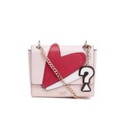 Guess Women's Pinup Pop Crossbody Flap Bag - Cameo