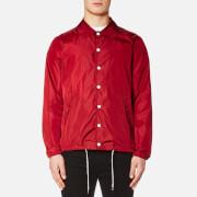 Maison Kitsuné Men's Plain Bertil Windbreaker Jacket - Red - XL - Red
