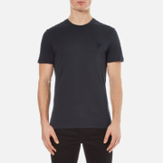 Versace Collection Men's Small Medusa T-Shirt - Blu Notte