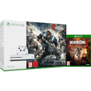 Xbox One S 1TB Console - Includes Gears of War 4 and Dead Rising 4