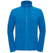 The North Face Men's 100 Glacier Full Zip Fleece - Banoff Blue