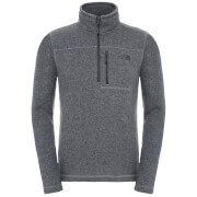 The North Face Men's Gordon Lyons 1/4 Zip Fleece - Medium Grey
