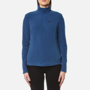 Jack Wolfskin Women's Gecko Half Zip Fleece - Ocean Wave