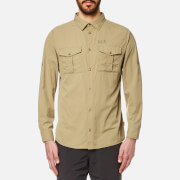 Jack Wolfskin Men's Atacama Roll Up Shirt - Sand Dune