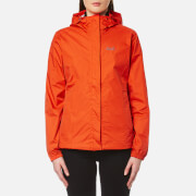 Jack Wolfskin Women's Cloudburst Jacket - Lobster Red