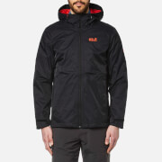 Jack Wolfskin Men's Arroyo Hooded Jacket - Black