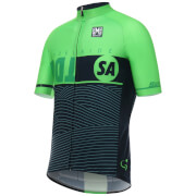 Santini Tour Down Under Adelaide Short Sleeve Jersey 2017 - Green