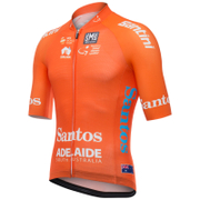 Santini Tour Down Under Leaders Short Sleeve Aero Jersey 2017 - Orange