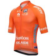 Santini Tour Down Under Leaders Short Sleeve Aero Jersey 2017 - Orange