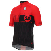 Santini Tour Down Under McLaren Vale Short Sleeve Jersey 2017 - Red