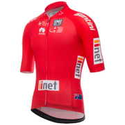 Santini Tour Down Under Sprinters Short Sleeve Aero Jersey 2017 - Red