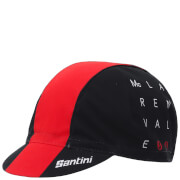 Santini Tour Down Under McLaren Vale Cotton Cap 2017 - Red
