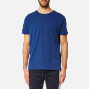 Tommy Hilfiger Men's Small Flag T-Shirt - Sodalite Blue