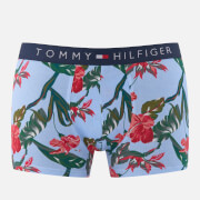 Tommy Hilfiger Men's Tropical Trunk Boxers - Chambray Blue