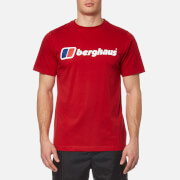 Berghaus Men's Block Logo 1 T-Shirt - Haute Red