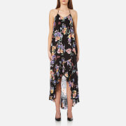 MINKPINK Women's Hidden Wonder Halter Dress - Black Floral