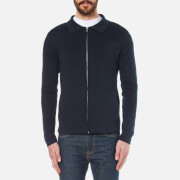 Selected Homme Men's Jakob Knitted Jacket - Dark Sapphire