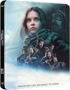 Star Wars: Rogue One 3D (Inklusive 2D Version) Zavvi UK Exklusive Limitierte Steelbook Edition