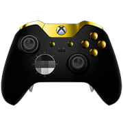 Manette sans fil Custom Elite Xbox One -Noir Mat et Or