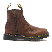 Dr. Martens Women's 2976 Chelsea Boots with Zips - Dark Brown