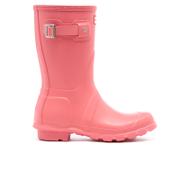 Hunter Womens Original Short Wellies  Pink  UK 3