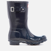 Hunter Women's Original Short Gloss Wellies - Navy