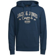 Jack & Jones Men's Originals Diego Hoody - Ensign Blue