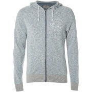 Chaqueta capucha Jack & Jones Originals Snap - Hombre - Azul