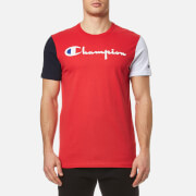 Champion Men's Chest Logo T-Shirt - Red