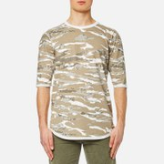 Maharishi Men's Reversible Camo T-Shirt - Naturale