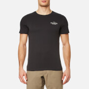 Craghoppers Men's Eastlake Small Logo Short Sleeve T-Shirt - Black Pepper