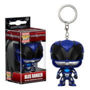 Power Rangers Movie Blue Ranger Pocket Pop! Sleutelhanger