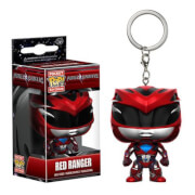 Power Rangers Movie Roter Ranger Pocket Pop! Schlüsselanhänger