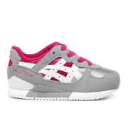 Asics Toddlers' Gel-Lyte III Mesh Trainers - Sport Pink/White
