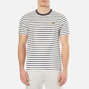 Lyle & Scott Men's Breton Stripe T-Shirt - Off White