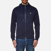 Lyle & Scott Men's Hooded Tricot Track Jacket - Navy