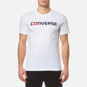 Converse Men's Core Wordmark T-Shirt - White