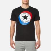 Converse Men's Large Circle T-Shirt - Black