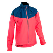 Sugoi Women's Versa Jacket - Electric Salmon/Blue