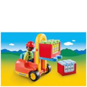 Playmobil 1.2.3 Forklift (6959)