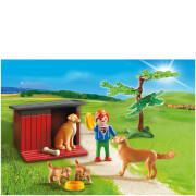 Playmobil Golden Retrievers with Toy (6134)