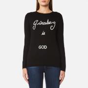 Bella Freud Women's Ginsberg is God Jumper - Black