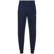 adidas Mens Essential Logo Cuffed Fleece Sweatpants  Navy  S