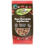 The Raw Chocolate Company Organic Raw Chocolate Goji Berries Snack Pack - 28g (Pack of 12)